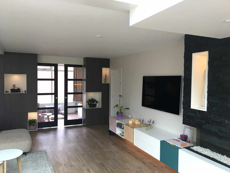 Woonkamer En Keuken : Interieur woonkamer keuken u freek mosterman